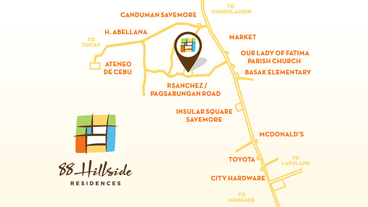 88-Hillside Residences-vicinity-map