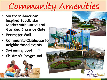 Camella Riverfront - Amenities