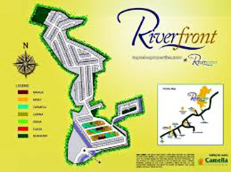 Camella Riverfront - Vicinity Map